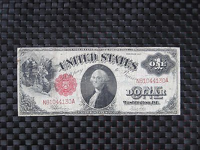 "$1 One Dollars 1917 ""United States Note"""