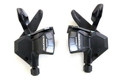 Shimano Deore SL-M590 3x9 Speed Shifters (F52486)
