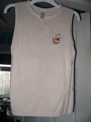 Disney Store Winnie the Pooh Ladies Knitted Top 10/12  BRAND NEW