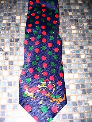Dr Seuss Grinch Who Stole Christmas Tie Whoville Max Baubles  Brand New Vry Rare
