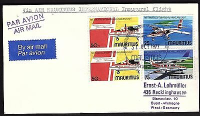 FFC Mauritius to West Germany (KB1920)