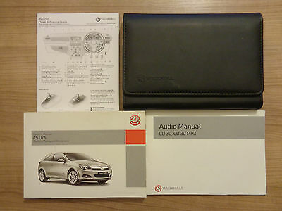 Vauxhall Astra Owners Handbook/Manual and Pack 04-08