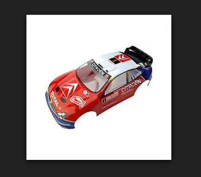 Painted Body, Xsara Wrc Rally Montecarlo 2005 1/8 Rg Pd6801 Thunder Tiger