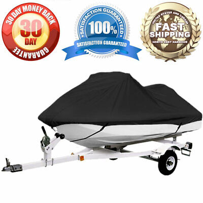 Trailerable Personal Watercraft Cover Universal PWC Storage Covers Elastic Hem