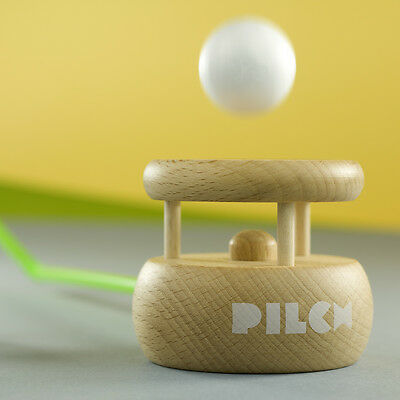 The Huff Puff Toy - Natural • Speech Therapy Game • Ecological Wooden PILCH 3yrs