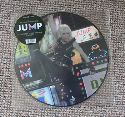 """Madonna 12"""" UK Picture Disc Jump Vinyl Single. Never Played"""