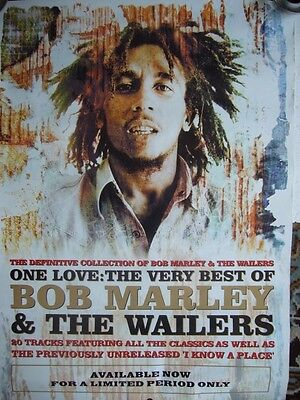 Bob Marley & The Wailers 'One Love Best of' Poster DNL