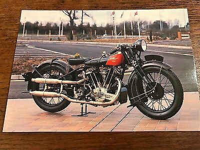 1928 1000cc Coventry Eagle Flying 8 National Motorcycle Museum Postcard (B)