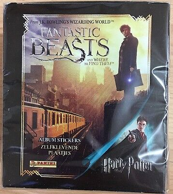 Panini Fantastic Beasts Harry Potter Album Stickers Full Box & Starter Pack