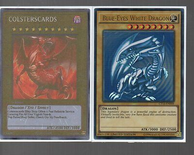 Yugioh Card - Ultra Rare Holo - Blue-Eyes White Dragon CT13-EN008 Limited Ed