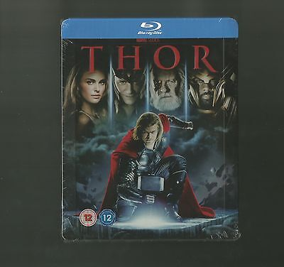 Thor - Uk Exclusive Blu Ray Steelbook - New & Sealed