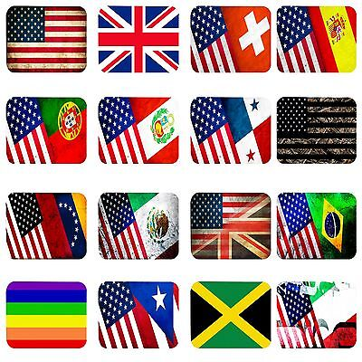Country Pride USA Flags Mouse pad Anti-Slip Mouse Pad Mat Mice Mousepad