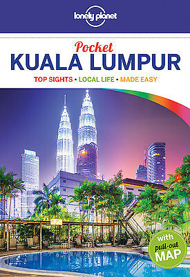 Lonely Planet POCKET GUIDE KUALA LUMPUR (Travel Guide) - BRAND NEW 9781743605141