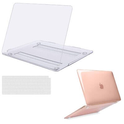 Laptop Clear Hard Shell Case for Macbook Air 13 Pro 13 15 Retina +Keyboard Cover