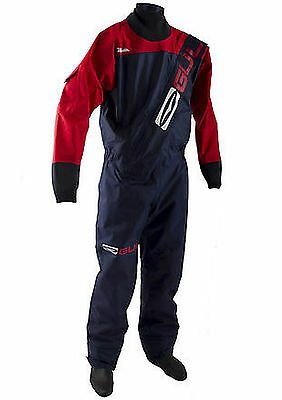 Gul Front Zip Gamma Drysuit Sailing Canoe Dry Suit Kayak Jet Ski Adult & Childs