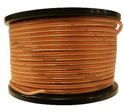 16 gauge 1000ft (2x500ea) Speaker wire 16GA car home wiring quality 16AWG cable