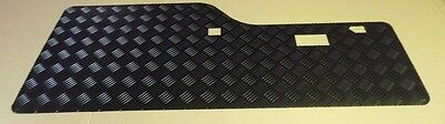 Land Rover Discovery 1 Black Chequer Plate Rear Door Card