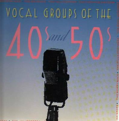 Vocal Groups Of The 40s and 50s Various NEAR MINT MCA Vinyl LP