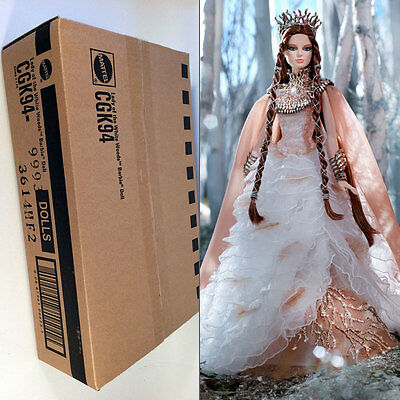 2015 Lady of the White Woods Barbie Doll - Gold Label ModelMuse - Sealed Shipper