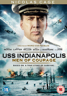 USS Indianapolis: Men of Courage DVD (2017) Nicolas Cage, Van Peebles (DIR)