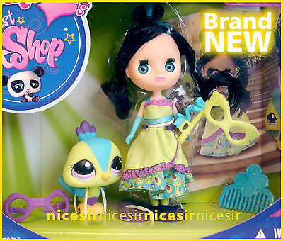 Blythe Littlest Pet Shop B44 2412 Gorgeous in Green Colorfully Cute Toy Doll