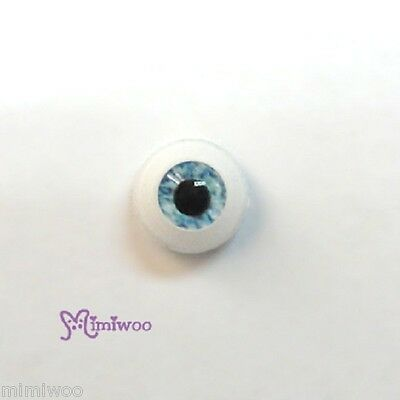 1/6 Bjd Dollfie EB Beauty 27cm Obitsu Doll Acrylic Plastic Eye 8mm Lt. Blue