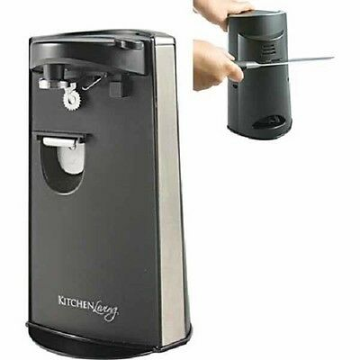 Kitchen Living Electric Can Opener Kitchen - knife Sharpener - Brand New in Box