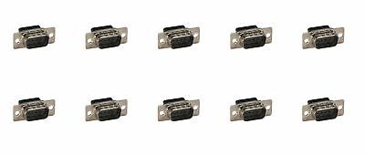 (10/Pack) DB9 Male Crimp Pin Connector