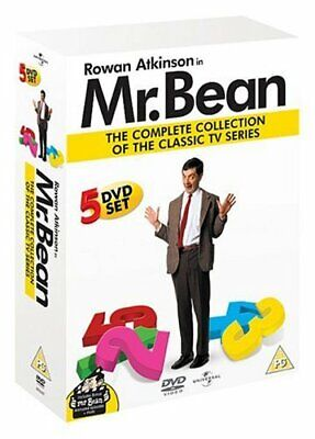 Mister Bean - Mr Bean - The Complete Collection Of The Classic TV... - DVD  12VG