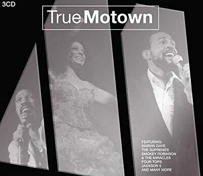 Various Artists - True Motown / Spectrum 3 CD Set - Various Artists CD J8VG The