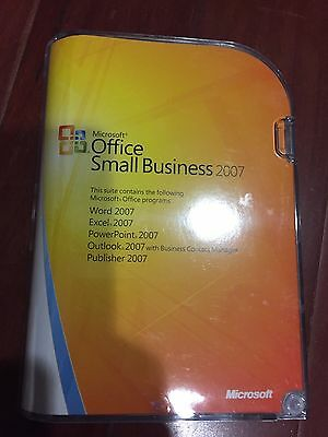 Microsoft Office Small Business 2007 Retail Version