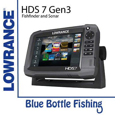 Lowrance HDS 7 Gen 3 Touch With TotalScan Transducer + Navionics Gold Card