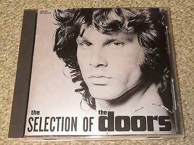 THE DOORS Japan PROMO ONLY CD Selection Of The Doors OFFICIAL Jim Morrison 16trk
