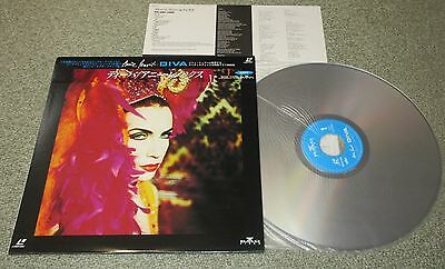 ANNIE LENNOX Japan music LASERDISC obi NTSC Eurythmics DIVA complete NOT DVD