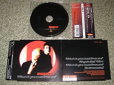 MONACO Japan PROMO CD w/obi NEW ORDER Peter Hook 3 tracks OTHERS AVAILABLE