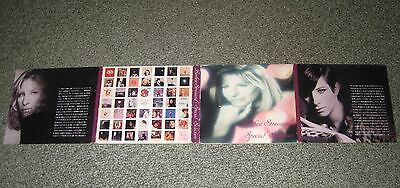 BARBRA STREISAND Japan PROMO ONLY 2 x CD Special Selection NOT MINT digipack p/s
