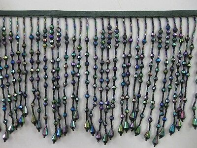 Beaded Fringe Trim -5 To 5.5 Inch -Bb-955 -16