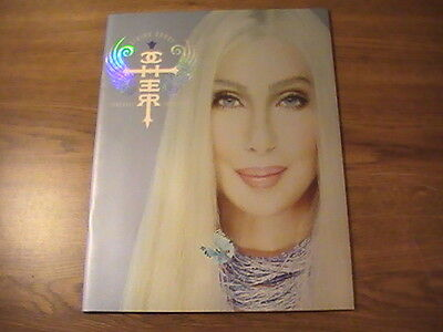 CHER Living Proof Farewell Tour 2002 Tour Book NM