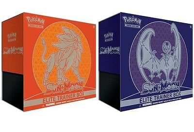 Pokemon TCG - Sun and Moon Elite Trainer Box Sun and/or Moon