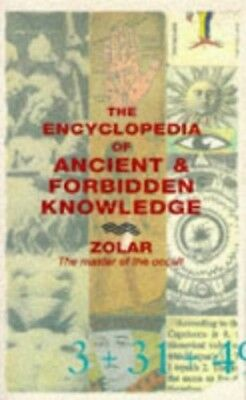 Encyclopedia of Ancient and Forbidden Knowledge, Zolar Paperback Book The Cheap