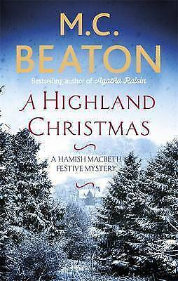 A Highland Christmas by M. C. Beaton, Book, New (Paperback)