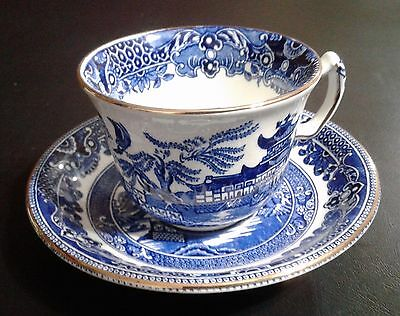 Burleigh Ware - Willow - One Cup and Saucer