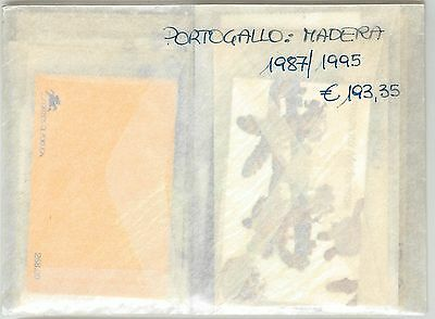 60937 - Portugal: Azzorre & Madera - Stamps: 1987 / 1995 Mnh - Almost Complete
