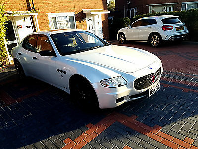 2005 Maserati Quattroporte Silver 4.2  Basically 4 Door Ferrari £14999 Bargain