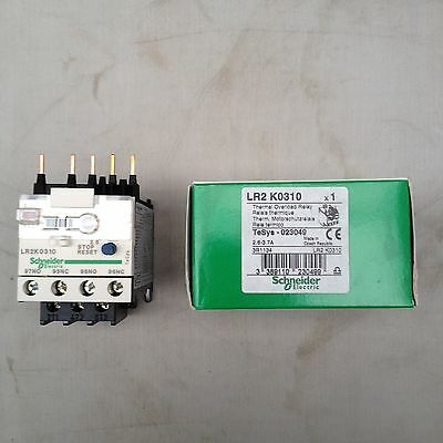 Schneider Thermal Overload Relay Lr2 K0310 2.6 - 3.7 A 3.7 A 100 W