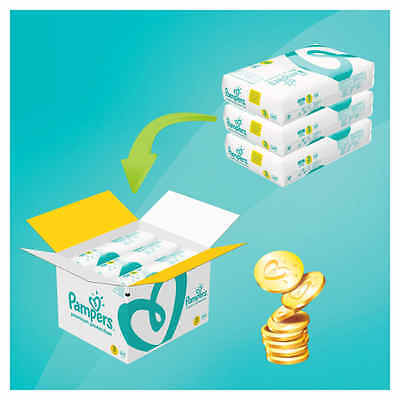 Pampers Size 3 Baby Premium Protection Nappies Monthly Saving Pack of 204