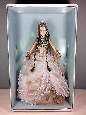 2015 Lady of the White Woods Barbie Doll - Gold Label ModelMuse - NRFB + Shipper