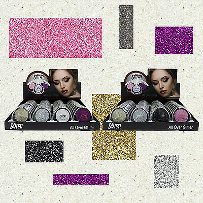 Saffron All Over Glitter - For Face, Eyes, Lips, Make Up, Eyeshadow