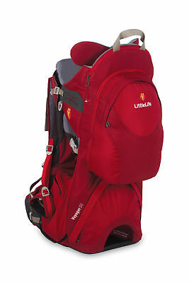 LittleLife Voyager S4 Child Toddler Carrier Backpack Travelling Lightweight Red