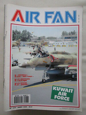 Air Fan N°177 Kuwait Air Force F-117A Douglas B-26 Invader Aviation Navale Grece